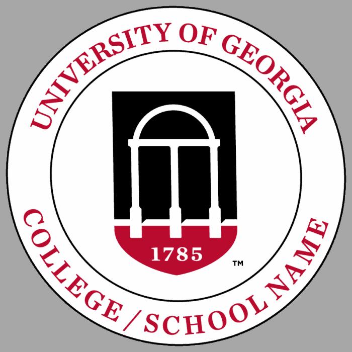 university of georgia new Logo3 700x700